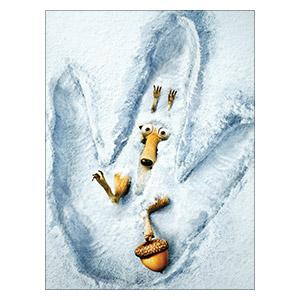 Ice Age. Размер: 30 х 40 см